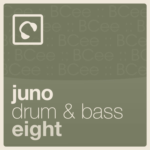 """Juno Drum & Bass 8 mixed by BCee - click """"buy on juno"""" for full tracklisting"""