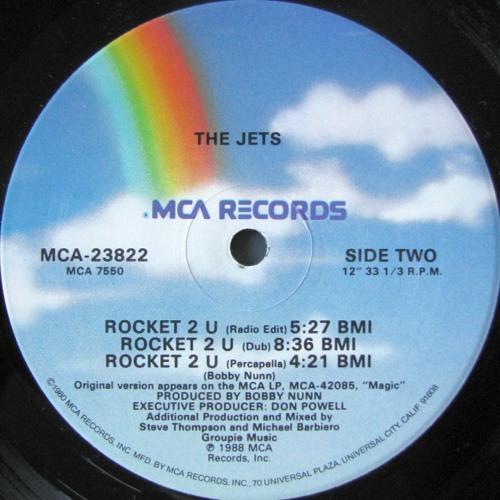 The Jets - Rocket 2 U (Dub Mix)