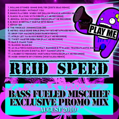 Reid Speed's Bass Fueled Mischief Exclusive Promo Mix