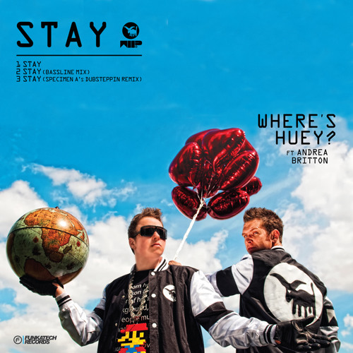 Where's Huey? - Stay ft. Andrea Britton (Specimen A's Dubsteppin Remix) FREE DL