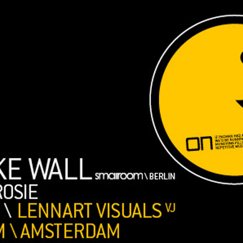 """Mike Wall @ """"ON and ON"""" Amsterdam / 22 May 2010"""