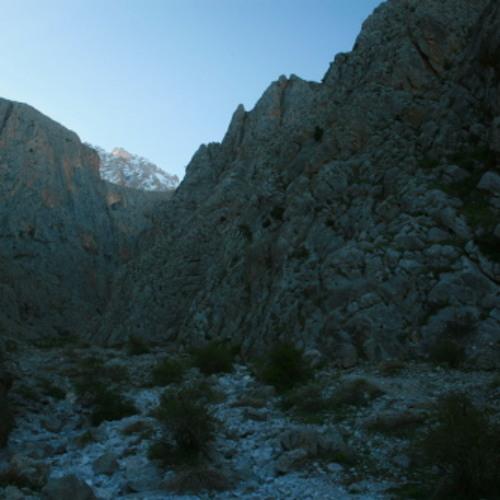 Birdsong echoing in Demerkazik Gorge