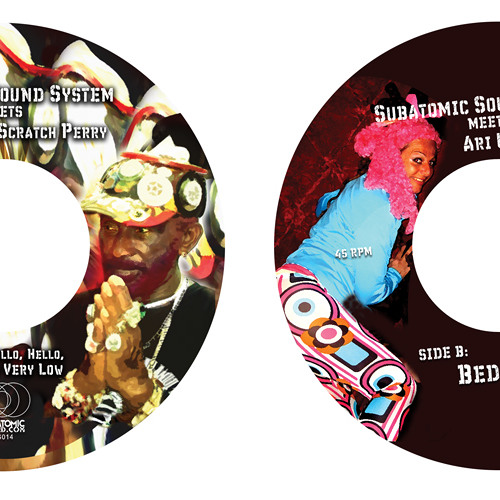 Subatomic Sound System meets Ari Up & Lee Scratch Perry - Hello, Hell is Very Low 7""