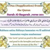 Rabbana duaas from the Quran