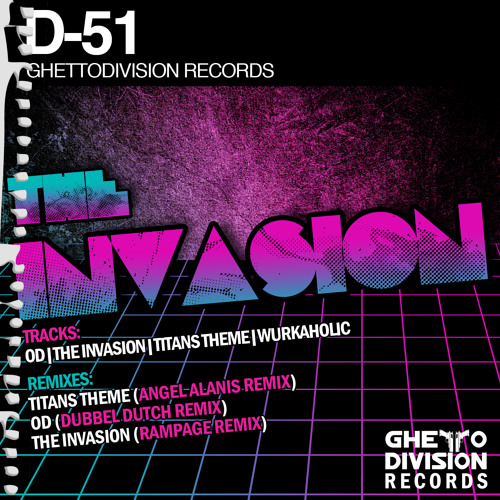 D-51 - The Invasion (Rampage Remix)