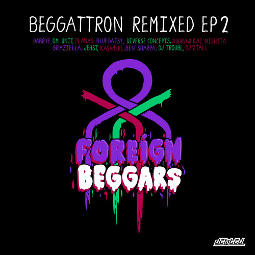 "Foreign Beggars ""Keepin The Line Fat"" ft Graziella PLANAS 2 STEP REMIX"