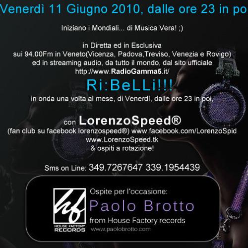LORENZOSPEED® Paolo Br8 @ Ri:BeLLi!!! 11/06/2010