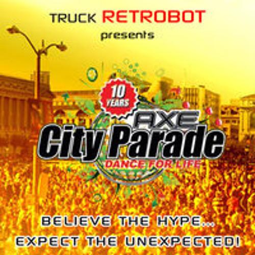 Public Affairs Djs live @ 10 Years City Parade 2010 Truck Retrobot 210810