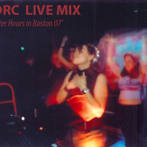 DRC LIVE_Boston Afterhours 2007 (Never before avail 4 download)!