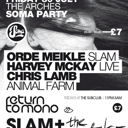 Chris Lamb live @ Pressure, Glasgow, July 2010