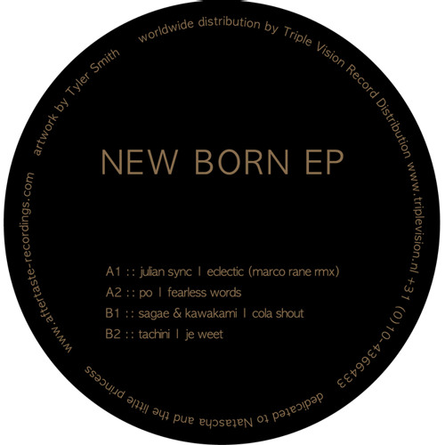 PO - Fearless Words ( New Born EP AFTER 004 )
