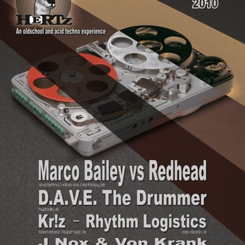 Rhythm Logistics promo mix for the Hertz party in Antwerp 17th Sep 2010