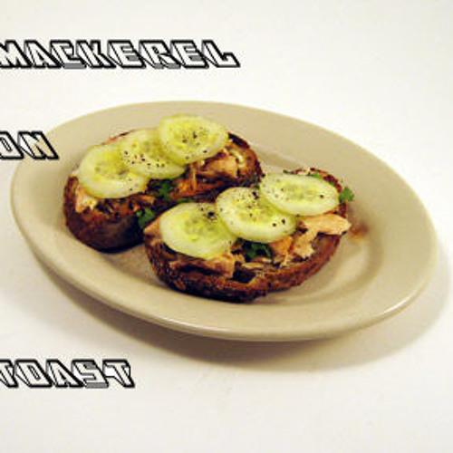 Mackerel on Toast