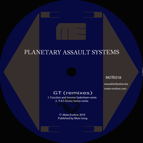Planetary Assault Systems - GT - 'Drone Sector' Remix - Mote Evolver