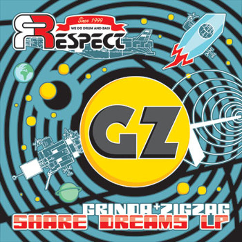 GRINDA + ZIGZAG - Share Dreams LP - RFDD006