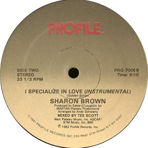 Sharon Brown - I Specialize In Love (NJM Edit)