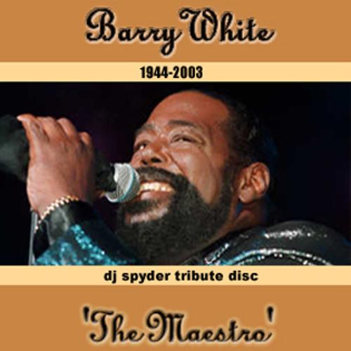 Barry White - The Maestro: DJ Spyder Tribute Medley