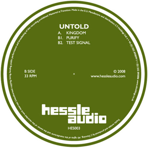 Untold - Purify (HES003)