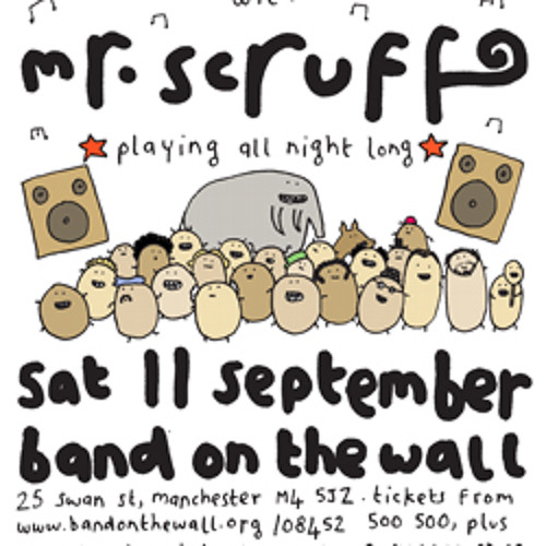 Mr Scruff DJ mix from Keep It Unreal, BOTW, Manchester, Saturday 11th September 2010