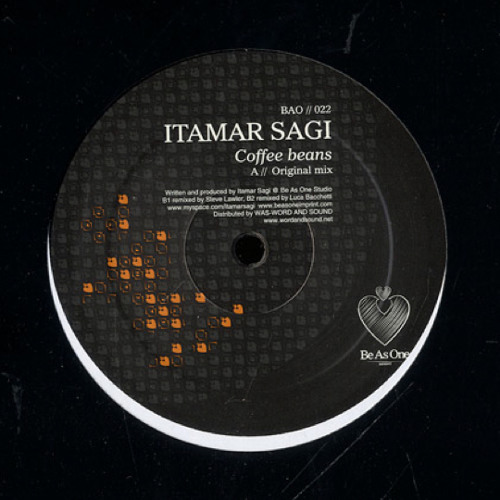 Itamar Sagi - Coffee Beans (Steve Lawler Remix) /// Be As One Records 2010
