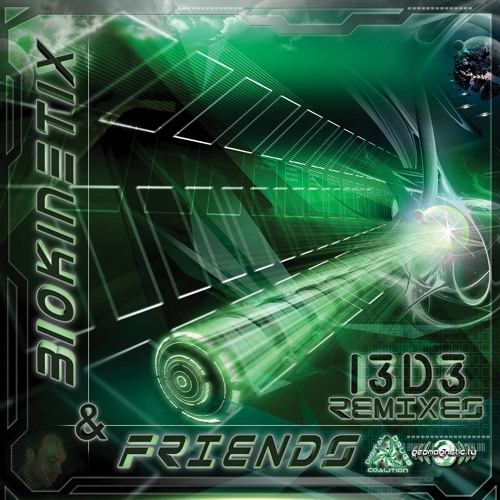 Biokinetix - i3D3 (The Remixes) - digicd021