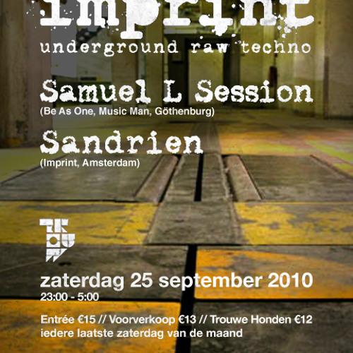 Sandrien - Imprint Set September 2010