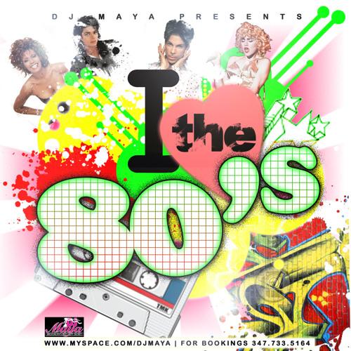 DJ MAYA'S BEST OF THE 80'S