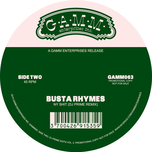 Busta Rhymes - NY Shit (Dj Prime Remix)