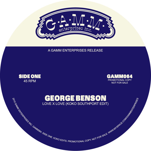 George Benson - Love X Love (Koko Southport Edit)