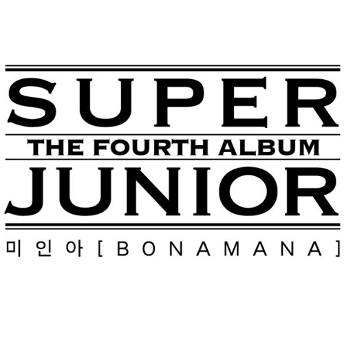 9) Bonamana - Super Junior