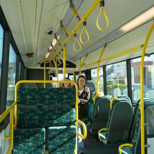 INSIDE URBAN BUS