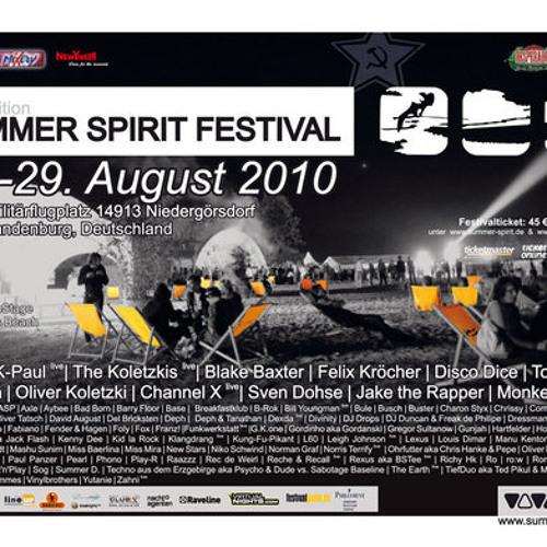 Norris Terrify LIVE! 12th Summer Spirit Festival - Hangar I by BRB Allstars - SA 2010-08-28