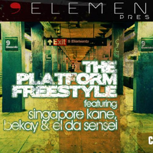 Singapore Kane, Bekay & El Da Sensei - The Platform Freestyle (The9Elements.com)