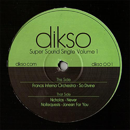 "DIKSO001 - Nicholas - ""Never"""