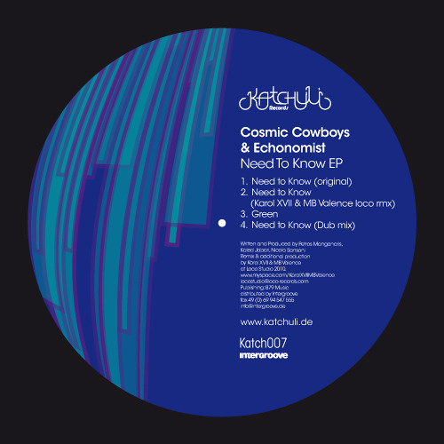 Cosmic Cowboys & Echonomist  - Need to know Katchuli rec.