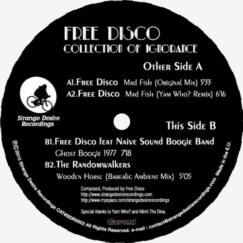 """Free Disco feat Naive Sound Boogie Band """"Ghost Boogie 1977""""(low resolution)"""