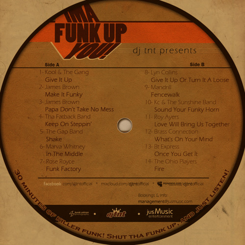 dj tnt Presents... Ima Funk You Up!