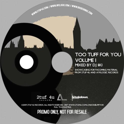 Too Tuff For You Volume 1 - Mixed by DJ $ki
