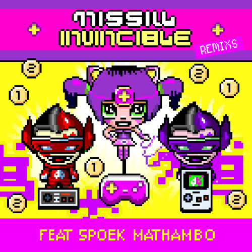 MISSILL-INVINCIBLE (MOCHIPET REMIX) Feat. Spoek Mathambo  [Like it? Repost!]