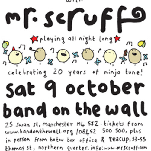 Mr Scruff DJ mix from Keep It Unreal, Manchester, Saturday 9th October 2010