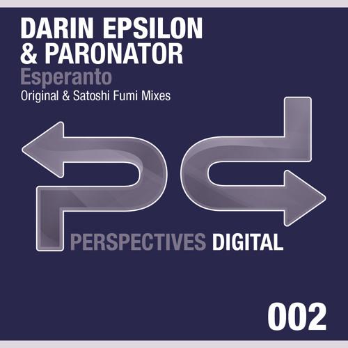 [FREE D/L] Darin Epsilon & Paronator - Esperanto (Original Mix) - [Perspectives Digital]