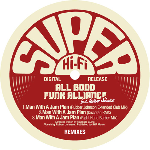 AGFA Featuring Rubber Johnson - Man With A Jam Plan (RJ Ext Club Remix)