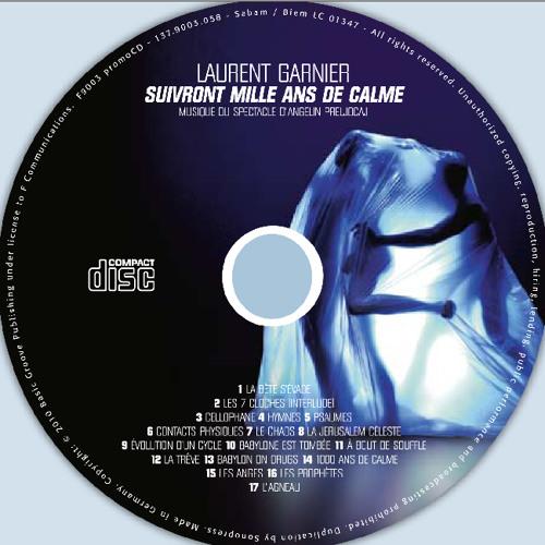 """Laurent Garnier """"A bout de souffle""""   (ballet """"suivront 1000 ans de calme"""")"""