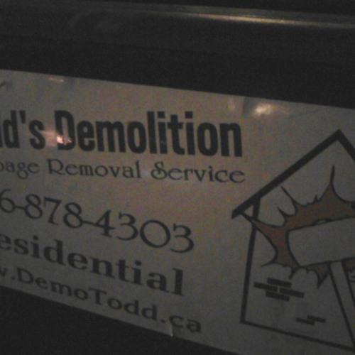 Todds reggae demolition