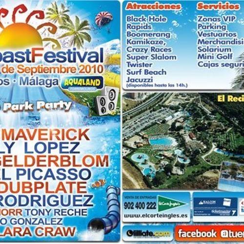 SUN COAST FESTIVAL Aqualand - 12/SEP/2010 - Warm Up - Live Set