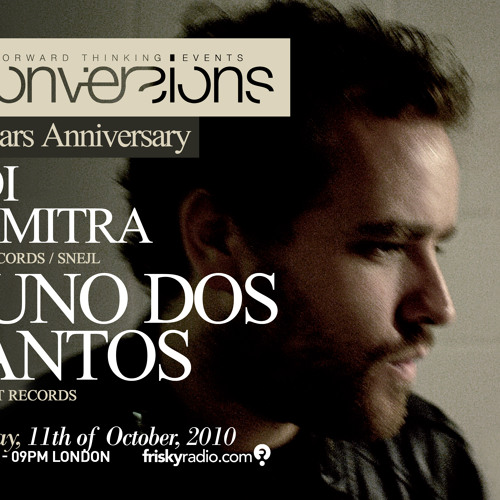 Nuno Dos Santos-Conversions - 4 Years Anniversary - 11th of October 2010 - Guestmix
