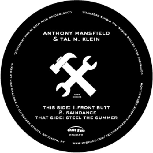 FrontButt by Anthony Mansfield & Tal M. Klein