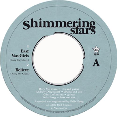 """Shimmering Stars - East Van girls / I'm gonna try 7"""""""