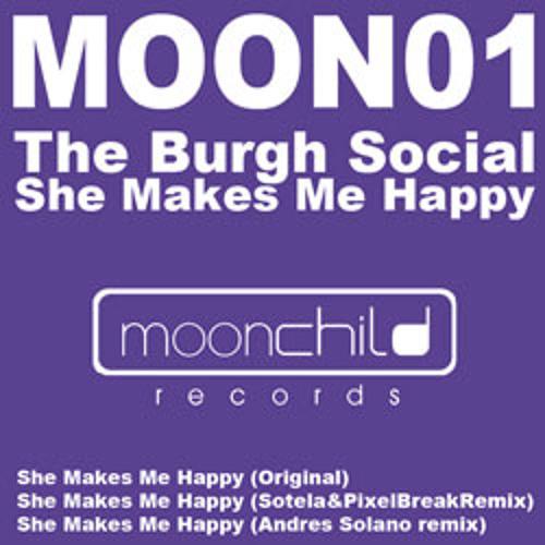 The Burgh Social - She Makes Me Happy (Sotela&Pixelbreak Remix