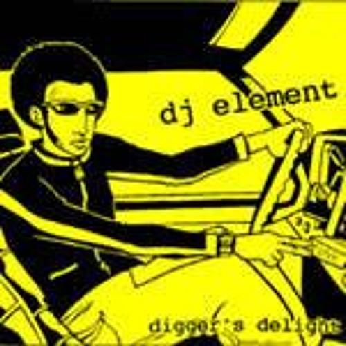 DJ ELEMENT- DIGGER'S DELIGHT (MIXTAPE)